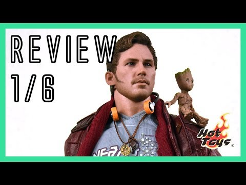 Hot Toys Starlord - Guardians of the Galaxy Vol 2 1/6 video review MMS421