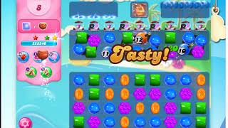 Candy Crush Saga Level 3390 -16 Moves- No Boosters