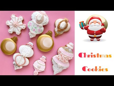 Christmas ornament cookies..❄️🎄❄️