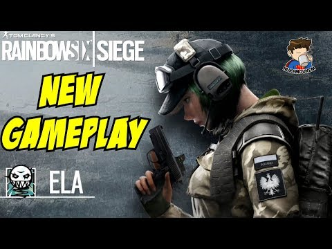 Rainbow Six Siege Ela Lesion Ying Gameplay All New Operators Operation Blood Orchid Gadget Abilities