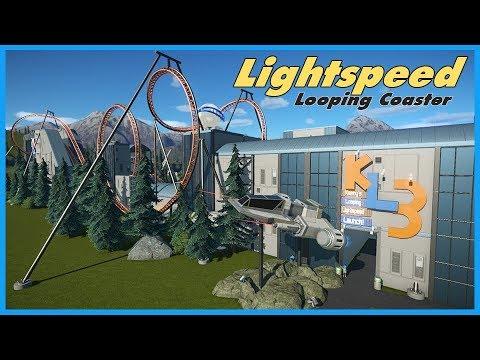 Star Ocean: Kenny's Looping Lightspeed Launch! Coaster Spotlight 382 #PlanetCoaster