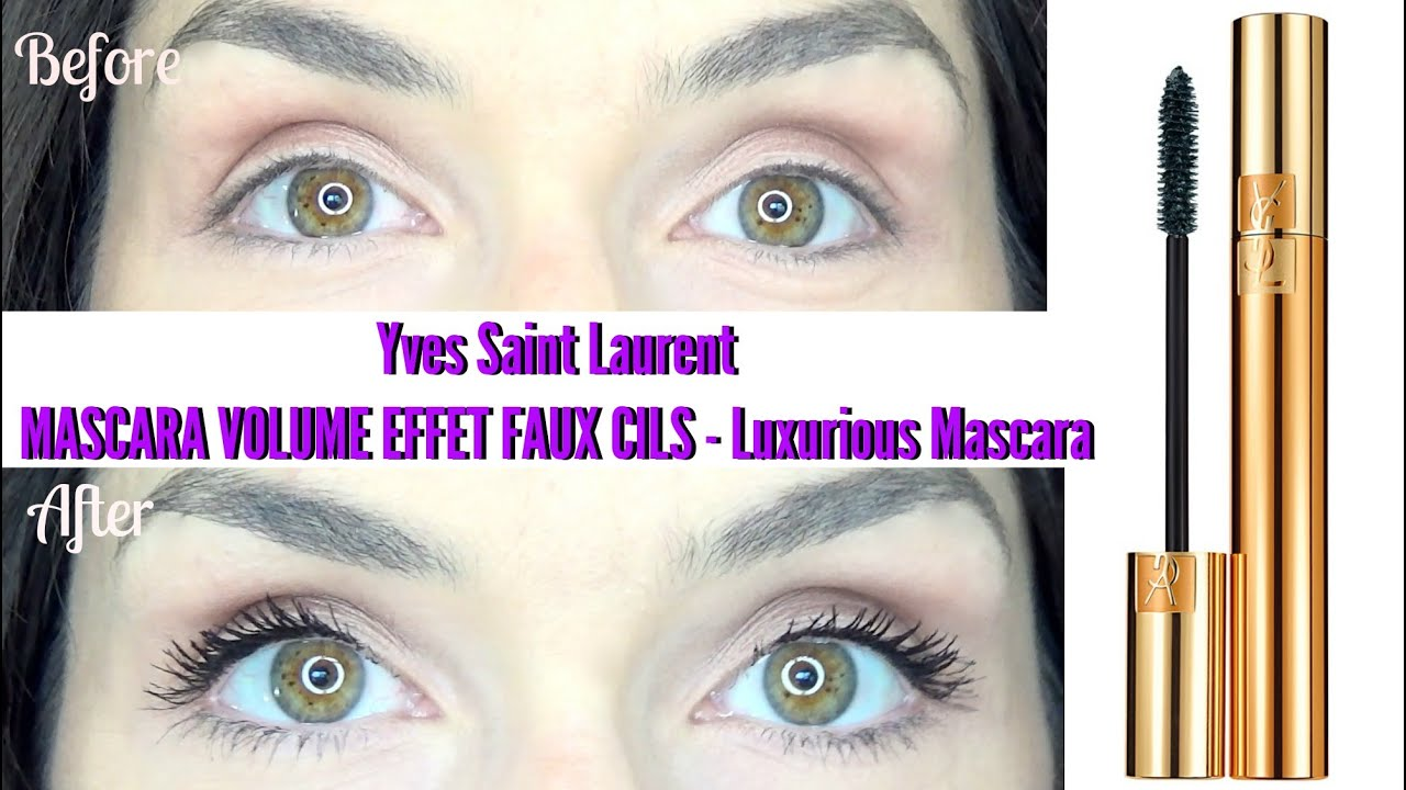 yves saint laurent faux cils