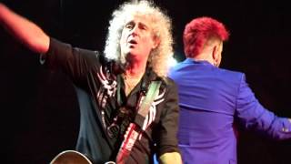 """Queen and Adam lambert, Chicago 2017 (UP CLOSE),""""Somebody to love"""""""