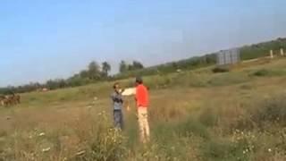 aterrizaje forzoso globo. Balloon crash landing