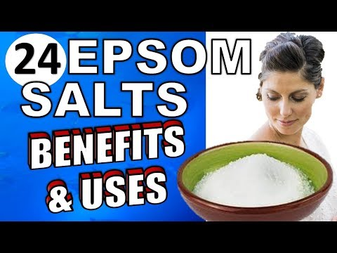 24 Mind Blowing Epsom Salt Health Benefits & Home Uses To Use Today