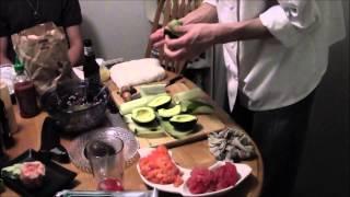 Sushi 4U -- Sushi Chef Time-Lapse Video