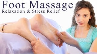 Swedish Foot Massage Techniques For Relaxation & Stress Releif, How To Massage Therapy For Beginners