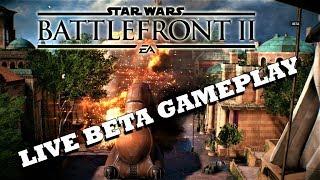 Star Wars Battlefront 2 -  Pre-Beta Live Gameplay 2