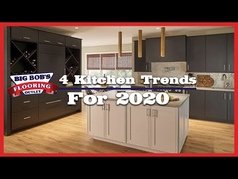 4 Kitchen Trends for 2020