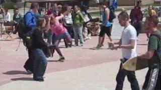 party rock anthem flash mob at csu