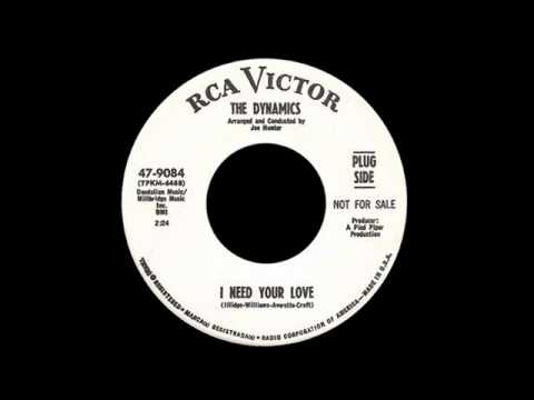The Dynamics - I Need Your Love