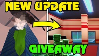 🔴 Roblox Jailbreak NEW UPDATE JUST RELEASED | NEW VEHICLE TEXTURE CODE | NEW Bombs + Firestation