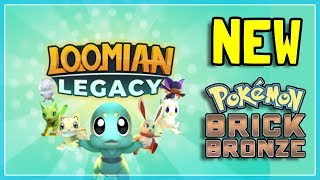 🔴 LOOMIAN LEGACY RELEASE! | The NEW Pokemon Brick Bronze! | FIRST TIME PLAYING! | ROBLOX LIVE
