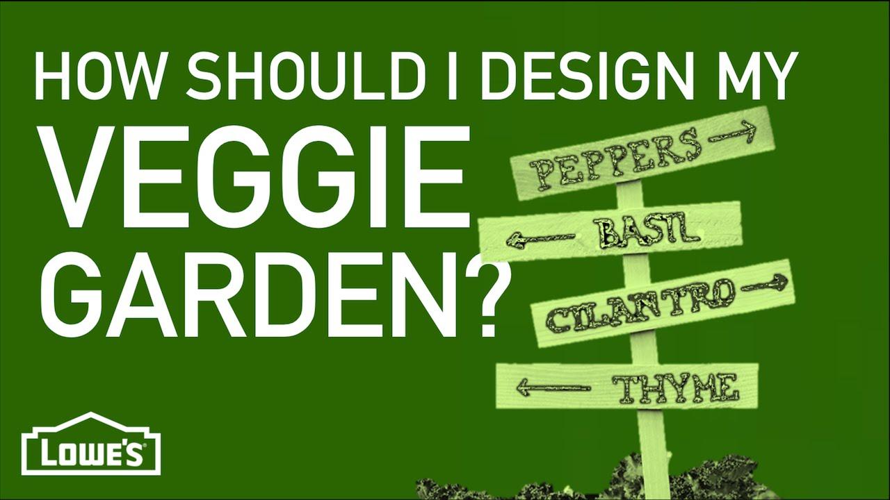 How Should I Design My Vegetable Garden Gardening Basics w