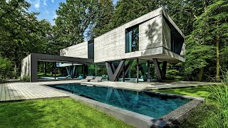 5 Contemporary Homes | That Look Like They're From the Future ▶ 8 !