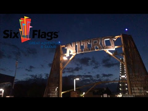 Six Flags Great Adventure Vlog - NO LINES!