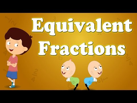 Equivalent Fractions For Kids