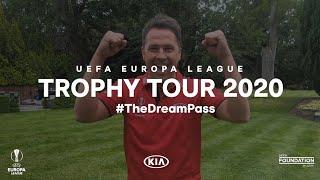 UEL Trophy Tour 2020 Highlight l UEFA Europa League l Kia