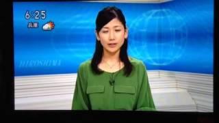 NHKおはよう日本でお盆にキャスターになった桑子真帆アナ。お盆明け月曜...