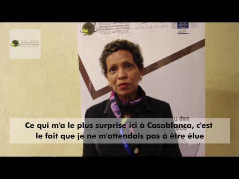 Interview avec Ms.Maria José MORENO CUNA, Présidente d'AfricaMagNet-Vidéo sous-titrée.