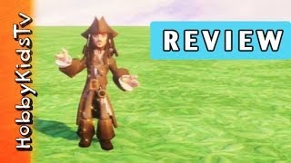 Infinity Jack Sparrow Toy Box Review - Disney Video Game