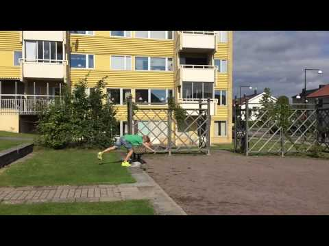Freeruning in Motala Sweden