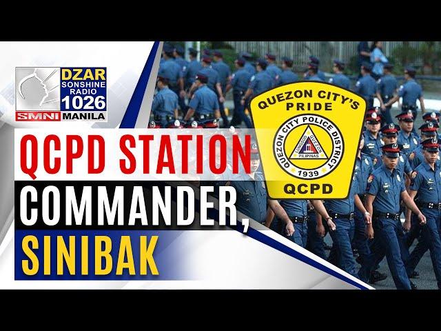 QCPD station commander, sinibak dahil sa pag-deploy ng mga pulis na positibo sa COVID-19 noong SONA
