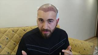 Saç Ekimi 2. Gün ( Baştan sona Detaylı anlatım)  Hair Transplant