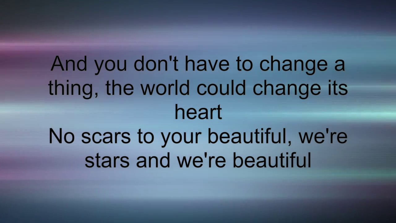 Alessia Cara - Scars to Your Beautiful (lyrics) - YouTube