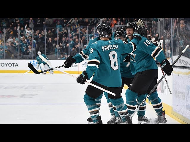 Sharks rally in 3rd for dramatic come-from-behind win