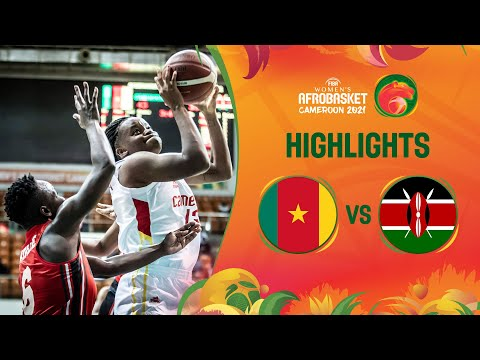 Cameroon - Kenya | Game Highlights - FIBA Women's AfroBasket 2021