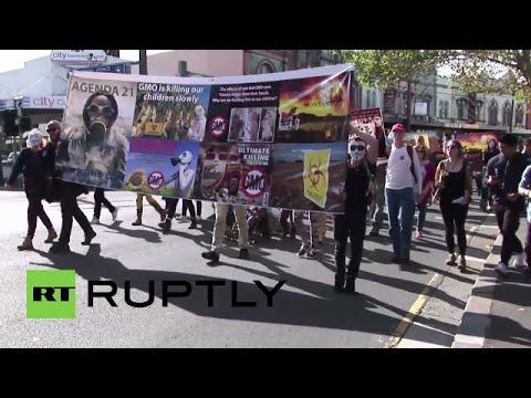 "March Against Monsanto Sydney Australia 2015 ""Nate Max"""