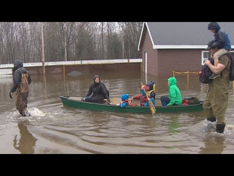 New Brunswick floods | Mayor urges caution