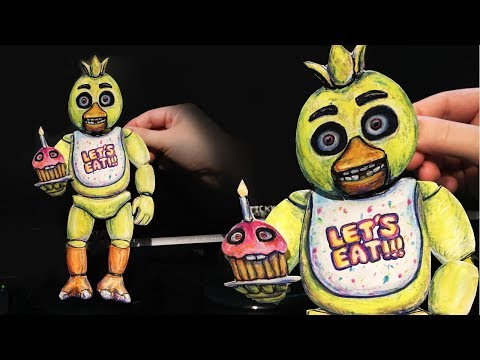 How to Make (Chica) Puppet from FNAF - Five Nights at Freddy's (2018) HD