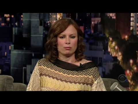 Mary Lynn Rajskub on Letterman 20070105