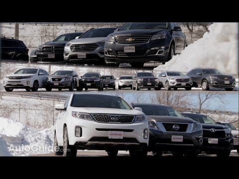 2014 Three Row Crossover / SUV Comparison