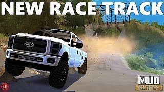 SpinTires MudRunner: NEW, UNRELEASED RACE TRACK!