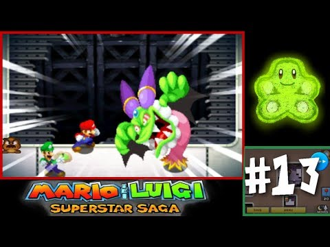Let's Play Mario & Luigi: Superstar Saga 3DS #13 - Witch Time