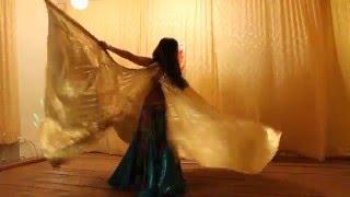 Восточный  танец,  выступление в Ишимбайском районе