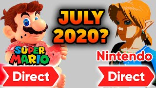Super Mario Direct or Nintendo Direct in July?
