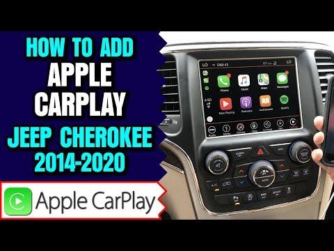 Jeep Cherokee Apple Carplay, 2014-2019 Jeep Cherokee Uconnect 8.4 Apple CarPlay Android Auto Upgrade