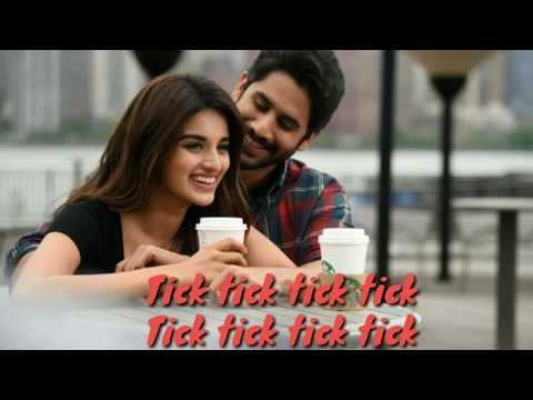 Savyasachi (telugu2018)Tick tick lyrics song ||Naga Chaitanya || Nidhhi Agarwal || m.maani