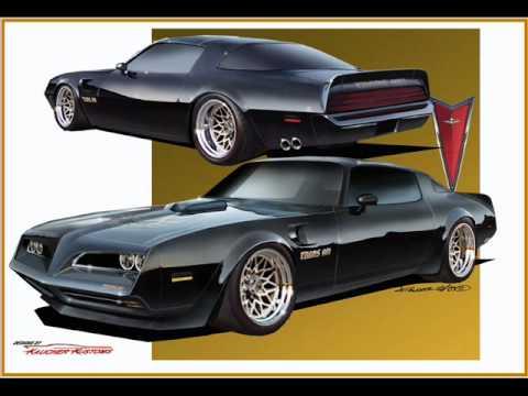 Car design slide show of many cool custom cars by Kaucher Kustoms