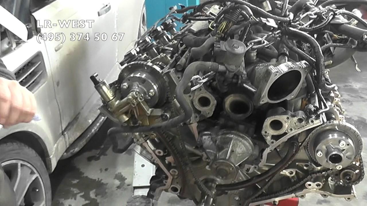 Ремонт бензинового двигателя 4.4 на Рендж Ровер и Дискавери 3