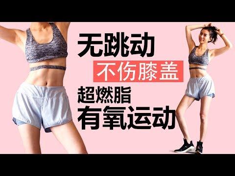 无跳动不伤膝盖超燃脂低强度有氧运动,20分钟无工具减肥操【周六野Zoey】
