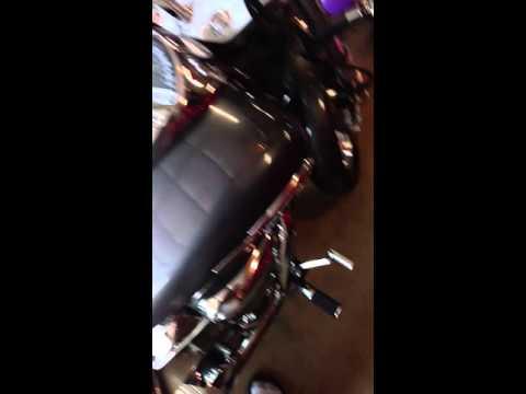 2006 Honda vtx 1300c vance & Hines long shots no baffles
