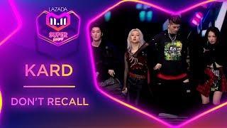 Don't Recall - KARD | #MyLazada1111