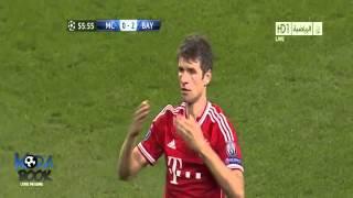 أهداف مانشستر سيتي 1-3 بايرن ميونخ 2/10/2013 | فهد العتيبي