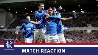 REACTION   Ryan Jack   Rangers 5-0 Kilmarnock