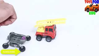 Construction Vehicles 😱 Toys for kids videos | Garbage trucks, Dumb Trucks, Excavator for kids play